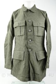 Zweedse wollen uniform jas - origineel WO2 gedateerd - meerdere maten