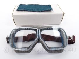 US model Tanker Goggles met breuk in glas - ongedragen in doosje - origineel