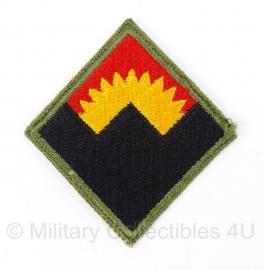 US  Western Defence Command embleem - origineel WO2