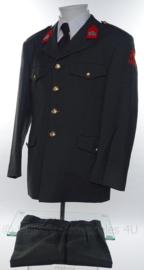 KL Nederlandse leger Natres Nationale Reserve DT2000 uniform jas, broek, overhemd en stropdas - maat 50 1/4 - origineel