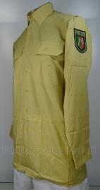 Polizei overhemd lange mouw Nordrhein-Westfalen - maat 40 tm. 43 - origineel