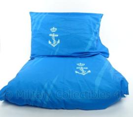 KM Marine dekbed, kussen, overtrek en sloop met logo - origineel