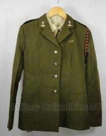 Brits leger dames uniform jas met insignes - 170 / 92 - origineel - nr. 4