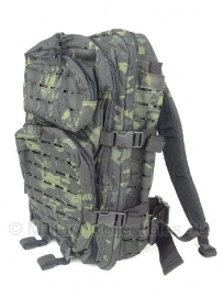 US Assault Pack Large - Laser cut - Black Multicamo