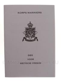 Korps Mariniers Arctische Streken handboekje - 15,5 x 10,5 cm - origineel