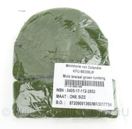 KL Nederlandse leger Lumbl lumbrig Luchtmobiel muts - nieuw in verpakking - origineel
