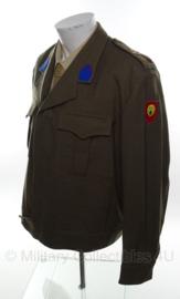 Belgische field service dress - wo2 canadees model - maat xxl - origineel