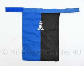 KLU Luchtmacht MA Militaire Academie halsdoek  - 34 x 23 cm - origineel