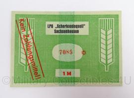 Duits LPG DDR Scherkondequell Sachsenhausen - 1 Mark - origineel