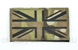 Britse leger infrarood patch - MTP camo - met klittenband - 5 x 9 cm