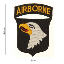 Patch 101st airborne replica - 2