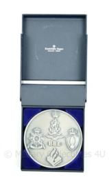 Politie Nederlands Leger KMAR en Korps Mariniers BBE Bijzondere Bijstandseenheid BBE coin in origineel doosje - zeldzaam - origineel