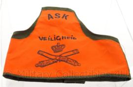 """Nederlandse leger armband ASK """"Artillerie Schietkamp"""" veiligheid - origineel"""