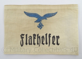WO2 Duitse armband verouderd - Luftwaffe Flakhelfer - afmeting 12 x 19 cm - replica