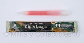 Breaklights Chemlight - origineel leger - 12 uur - RED