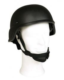 MICH 2000 helm - Heavy - 1230 gram zwart
