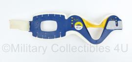 Defensie blauwe halskraag Stifneck neckbrace Laerdal Medical  - origineel