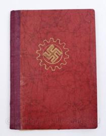 Wo2 Duits  DAF Das Deutsches Arbeitsfront boekje 1935 - 10,5 x 15,5 cm - origineel
