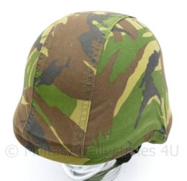 KL of Korps Mariniers vorig model composiet helm overtrek Woodland - Model zonder lussen - Maat Medium - gebruikt - origineel