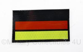 Zeldzaam modern Duits infrarood embleem met klittenband - 9 x 5,5 cm - origineel