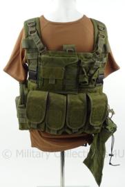 Defensie en Korps Mariniers assault vest met tassen! - merk Warrior assault systems - origineel