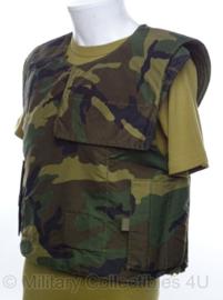 Servisch ballistisch vest - zonder inhoud - maat XL - origineel