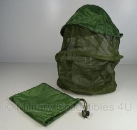 KL anti-Muskieten anti-muggen hoofdnet Muskietennet hoofd luxe uitvoering - origineel