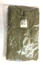 KL Nederlandse leger ondershirt jaren 80 - lange mouw - nieuw in verpakking - maat 7 = XXL - origineel