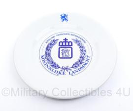 Porseleinen bord Koninklijke Landmacht afdeling personeelsvoorziening  - diameter 24 cm - origineel