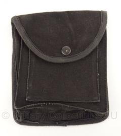 Politie koppeltas - zwart - 5 x 15 x 18 cm - origineel