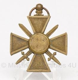"""Belgische """"1914-1917"""" bronzen medaille - Origineel"""