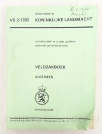 KL Landmacht veldzakboek - 1979 - 13 x 18 cm - origineel