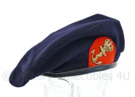 Korps Mariniers baret met vroeg model insigne - zeldzaam jaren '50 model - maat 54 - origineel