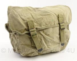 WO2 US Musette bag rugzak - 18 x 35 x 28 cm - origineel
