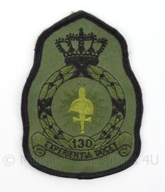 KLu Luchtmacht eenheid embleem 130e Squadron - met klittenband - afmeting 8 x 11,5 cm - origineel