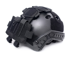 Mich helm Pouch voor contragewicht voor nachtkijker excl. helm - zwart  - origineel