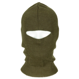 Militaire  Headover balaclava - groen - origineel