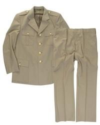 Italiaans uniform met broek - meerdere maten - US class a model - lichtbruin GRP