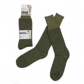 Leger sokken voor gevechtslaarzen - GROEN - nieuw gemaakt