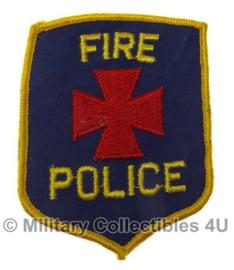 Fire police patch - origineel