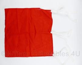 Signaalvlag rood vierkant  - 40 x 40 cm - origineel