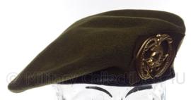 """KL Koninklijke Landmacht baret met insigne """"pontonniers"""" - maat 58 en 59 - origineel"""