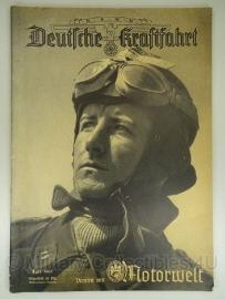 NSKK Deutsche Kraftfahrt Motorwelt groot Tijdschrift Juli 1941 - origineel