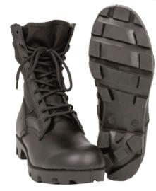 US Army jungle boots - geheel zwart - met Panama zool - nieuw gemaakt
