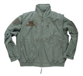 Pilot Flight Jacket met survival overvest - groen - maat 182/108 - origineel leger