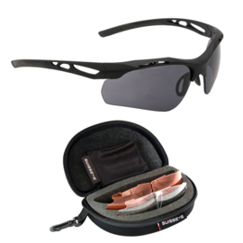 Swisseye Attack goggles - Black - Nieuw model!