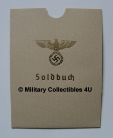 Soldbuch cover - Heer