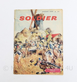 The British Army Magazine Soldier August 1959 - 30 x 22 cm - origineel