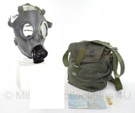 Pools gasmasker (zonder filter) met puma camo tas - origineel