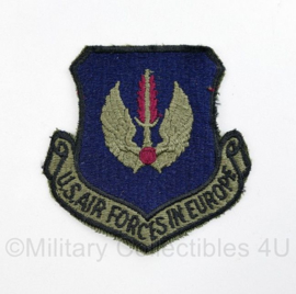 USAF US Air Forces in Europe patch  - 8 x 7,5 cm - origineel